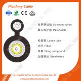 Outdoor FTTH Gyxtc8y Fiber Optic Cable