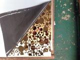 8k Goleden Titanium Etching Decorative Stainless Steel Sheet