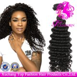 Silky Deep Extension Wave Hair 100% Peruvian Virgin Remy Human Hair Extension (TFH-NL0067)