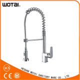 Two Function Single Lever Spring Pull out Kitchen Faucet