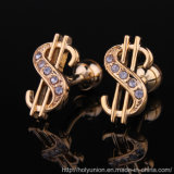 Fashion Currency Cufflinks Uniform Shirts Cuff Links