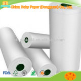 60 GSM Cream or White CAD Recycled America Plotter Paper for Garment Factories Tracing and Drawing
