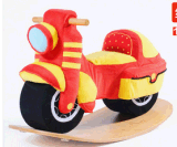 Factory Supply Wooden Rocking Toy Rocking Motorcycle
