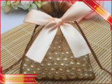 Jewelry String Pouch Organza Gift Pouch with Ribbon Bow