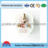 2017 Hot New Products Africa/Uganda Cable Wire 3 Pin Plug Electrical Plug with Copper for Home Appliance