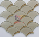 Water Jet Fish Scale Crystal Glass Mosaic (CFW62)