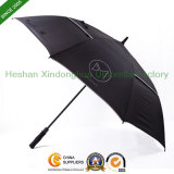 "60"" Automatic Double Canopy Golf Umbrella with Windpoof Ribs (GOL-0030FD)"