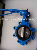 Lug Type Butterfly Valve with Leverage Operate