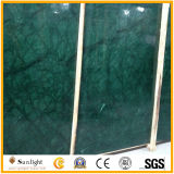 Natural Polished Indian Flower Green Marble for Slabs, Tiles, Tops