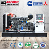100kw Open Diesel Generator Water Cooled Generator Ricardo Engine