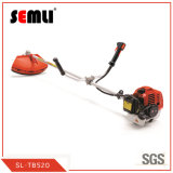 Cheap Wholesale 52cc Gasoline Grass Trimmer Brush Cutter with Metal Blade and Nylone Cutter Head