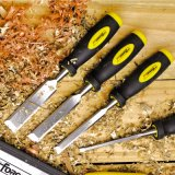 """3/4"""" Woodworking Tools 40cr Steel Wood Chisel with Plastic Handle"""