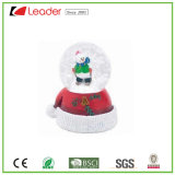 New-Style Hand-Painted Resin Craft Snowman Snow Globe for Christmas Decoration and Souvenir Gift, Customize Your Own Water Globe