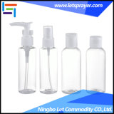 4 PCS Plastic Cosmetic Travel Lotion Bottle Set