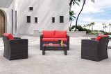 Patio Wicker Garden Idaho Lounge Home Hotel Office Outdoor Sofa Set (J662)