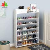 Cheap Simple Design Shoe Rack Storage Shelf Cabinet Wooden Furniture Entryway Floor Unit