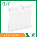 Plastic Price Tag Label Holder Overarm Price Tag Clip for Display Hook