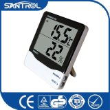 Hygrometer and Clock Multifunction Thermometer for Showing Temperature, Humidity