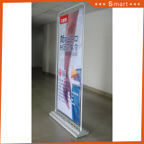 Recycled Outdoor Flooring Stand Door Shape Advertising Banner Stand