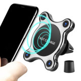 Brand New Technology Fast Mobile Phone Wireless Car Charger with Magnet Suction for Factory Supplier