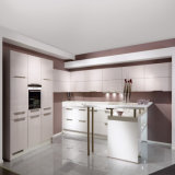 White High Gloss Lacquer Tall Cabinet Home Modern Kitchen (ACS2-L330)