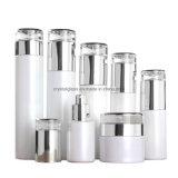 120ml Pearl White Cosmetic Bottle Set for Beauty Salon