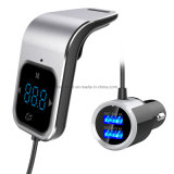 Bluetooth FM Transmitter Handsfree Car Kit with Dual USB Charger