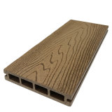 140X25mm Anti Crack Wood Plastic Composite Flooring for Swimming Pools