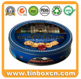 Custom Round Can, Food Tin Can for Cookie Packaging, Gift Tin