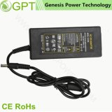 12V 5A Switching CCTV AC DC Power Supply Adapter, Desktop LED Power Adapter for Laptop C6 C8 C14 Connector 60W with CE RoHS