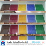 Color/Tinted Float/Toughened Pattern Glass for Home Decoration with Certification