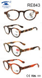 Fashion Round Frame Matte Women High Quality Reading Glasses (RE843)
