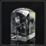 3D Bird Picture in Top Dome Crystal