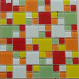 Mix Color Mosaic Tile with 30X30 Crystal Glass (MX015)