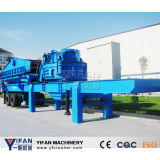 Good Quality and Low Cost Rubber-Tyred Mobile Crusher