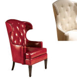 (CL-2209) Antique Hotel Restaurant Room Furniture Wooden Leisure Arm Chair