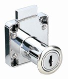 Zinc Alloy Chrome Plated Drawer Lock Security Lock (SS-021)
