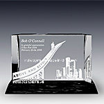 Above and Beyond Crystal Award (V83T)