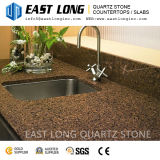 Granite Color Quartz Stone Slabs for Bar Tabletops