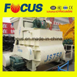 High Quality Js750 Ready Mix Concrete Mixer, PLC Control Twin Shaft Concrete Mixer