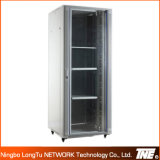 19′′ Network Cabinets with Front Temper Glass Door, Rear Steel Door