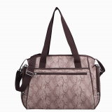 pH-Free Fashion Carrying Baby Diaper Nappy Bag (CA5558-39)