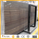 Polished Brown Obama Wood Grain Marble for Countertops, Flooring Tiles