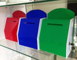 Custom Design Acrylic Collection Box with Logo