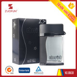 Unique Design Frosted Black Empty 100ml Glass Atomizer Perfume for Men