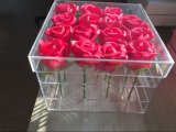 Chinese Brand Flower Acrylic Box for Wedding