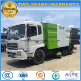 6 Wheels Road Sweeper Truck 8m3 Vacuum Cleaning Truck