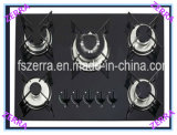 Black Tempered Glass Cooker Gas Kitchen (JZG95001B)