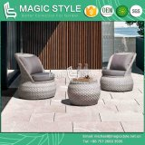 Rattan Leisure Sofa with Cushion Wicker Weaving Sofa Outdoor Wicker Sofa Garden Rattan Coffee Table