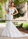 Mermaid Lace Bridal Dresses V-Back Wedding Dress F28105